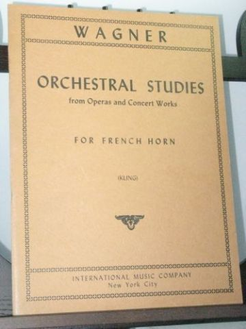 Wagner R - Orchestral Studies from Operas and Concert Works